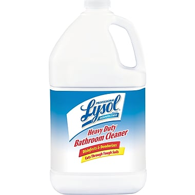 Professional Lysol® Disinfectant Heavy-Duty Bathroom Cleaner, Fresh Lime, 1 gal., 4/Case