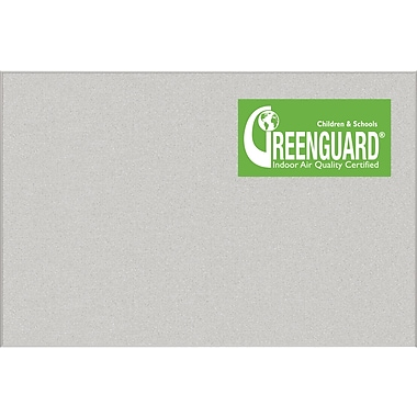 Best-Rite® Ultra Trim Pebbles Vinyl Bulletin Board, Light Quarry