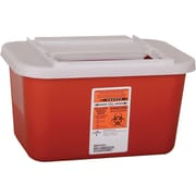Medline Biohazard Multipurpose Sharps Containers