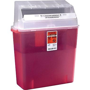 Medline Biohazard Multipurpose Sharps Containers, 3 gal.