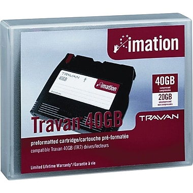 Imation Travan NS-40 Data Cartridge, 40GB Capacity
