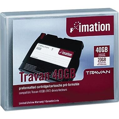 Imation - Chargeur de données formaté Travan NS-40, Capacité de 40 Go