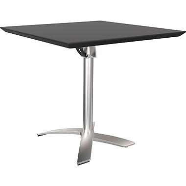 Good Balt Folding Square Bistro Table, Black