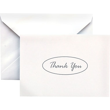 Gartner Studios –Cartes de remerciement « Thank You », 5 po x 3 1/2 po, ton