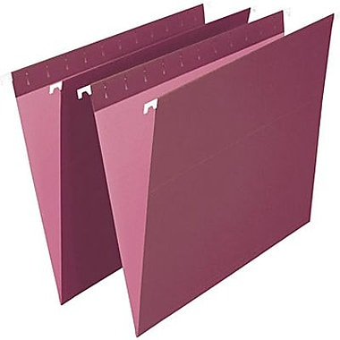Staples® Coloured Hanging File Folder, Letter Size, 8-1/2