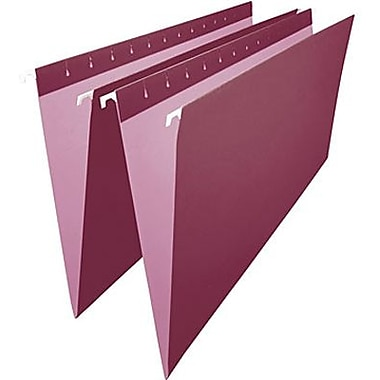 Staples® Coloured Hanging File Folder, Legal Size, 8-1/2