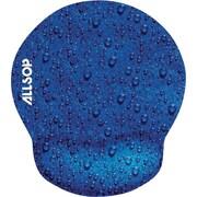 Allsop® Raindrop Mouse Pad Pro, Blue