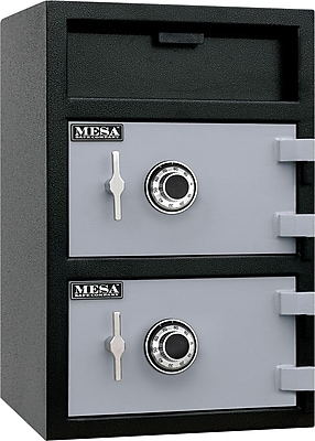Mesa™ 3.6 Cubic Ft. Capacity Double Door Depository Safe with Combination Lock with Standard Deliver