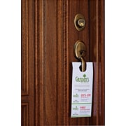 "Avery® Door Hanger with Tear-Away Cards, 4 1/4"" x 11"", White, 80/Pack (16150)"
