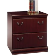 Bush® Birmingham Collection Lateral File, Harvest Cherry