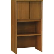 "Bush® Westfield Collection 24"" Storage Hutch, Cafe Oak"