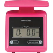 Brecknell 7 lb Electronic Postal Scale, Pink