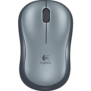 Logitech M185 Wireless Optical Mouse, Black (910-002225)