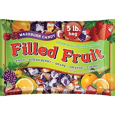 Washburn Filled Fruit Hard Candies, 5 lb. Bag