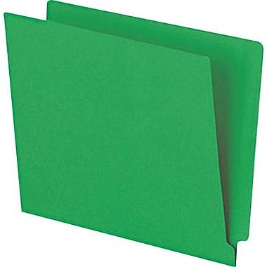Pendaflex® Reinforced Coloured End-Tab File Folders, Letter Size, Green