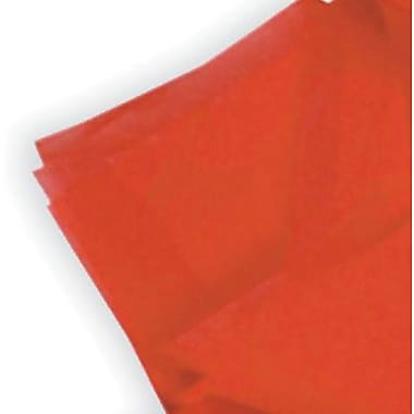 Satinwrap Mandarin Red Tissue