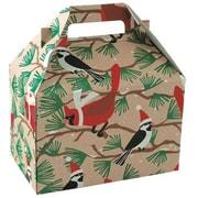 Snowbirds on Kraft Gable Box