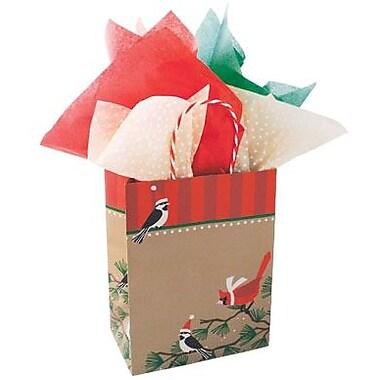 Snowbirds on Kraft Shopping Bags