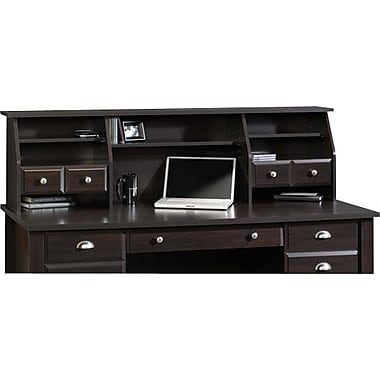 Sauder Shoal Creek Collection Organizer Hutch, Jamocha Wood