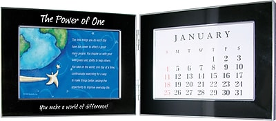 You Make a World of Difference Perpetual Desktop Calendar