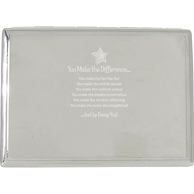 Making the Difference Silver Desktop Perpetual Calendar with Organizer