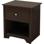 South Shore Vito Collection Night Stand, Chocolate
