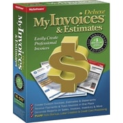 Avanquest MyInvoices & Estimates Deluxe 10, English