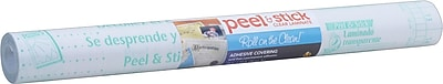 Duck® Clear Laminate Peel N' Stick, 18