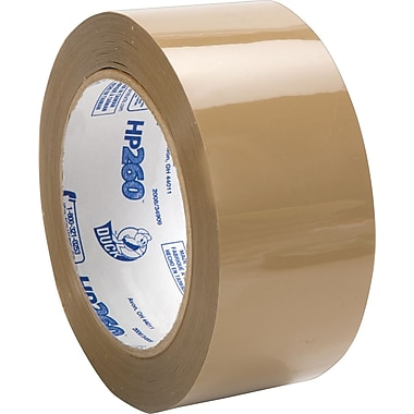 Duck® HP260 High-Performance Packing Tape, Tan, 1.88