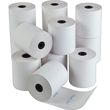 ICONEX/NCR – Rouleaux de papier thermique NCR avec message : Thank You/Merci, 3 1/8 po x 225 pi, paq./12, (9090-3559)