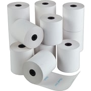 "Iconex Thermal Paper Rolls with ""Thank You""/""Merci"" Messaging, 3-1/8"" x 225', 12/Pk, (9090-3559)"