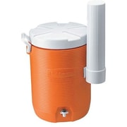 Rubbermaid® Orange Water Cooler With Dispenser, 5 gal