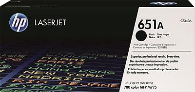 HP 651A Black Toner Cartridge (CE340A)