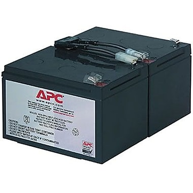 APC® Replacement Battery Cartridge, RBC6