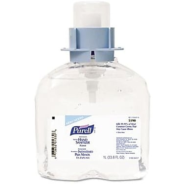 Purell® FMX Hand Sanitizer Foam Refill, 70% Alcohol, 1.2 L