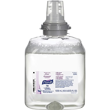 Purell® TFX Touch-Free Hand Sanitizer Foam Refill, 70% Alcohol, 1.2 L