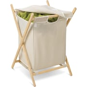 Honey Can Do Folding Wooden Hamper