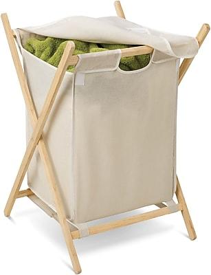 Honey Can Do Folding Wooden Hamper