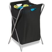 Honey Can Do Fold Up Nylon Hamper, black (HMP-01635)