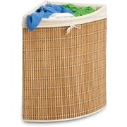 Honey Can Do® Bamboo Wicker Corner Hamper