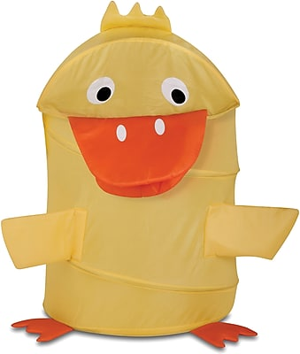 Honey Can Do Kid's Pop-Up Hamper, Duck, yellow (HMP-02060)