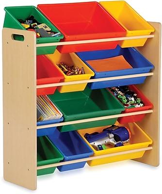 Honey Can Do Kids Storage Organizer, 12 Bin, primary (SRT-01602)
