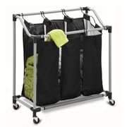 Honey Can Do Elite Triple Laundry Sorter, black (SRT-01641)