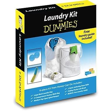 Honey Can Do Basic Laundry for Dummies Kit, white (LDY-01890)