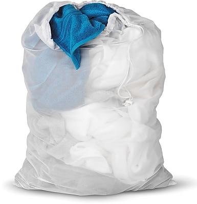 Honey Can Do Laundry Bag & Hamper Kit; White
