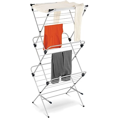 Honey Can Do® 3-Tier Mesh Top Drying Rack, 48 Linear Feet