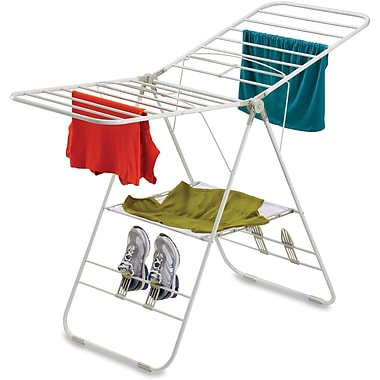 Honey Can Do Heavy-duty Gullwing Drying Rack, White (DRY-01610)