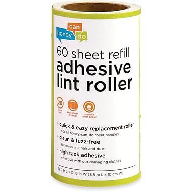 Honey Can Do 6 Pack Of 60 Sheet Lint Roller Refills