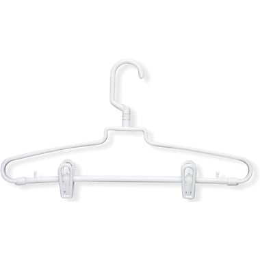 Honey Can Do 72 Pack Hotel Style With Clips, White, 72/Pack