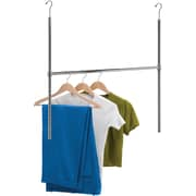 Honey Can Do Chrome Adjustable Hanging Closet Rod